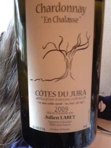 Domaine Labet  Chardonnay En Chalasse Còtes du Jura 2009