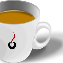 Il caffè mi piace anche in vetro