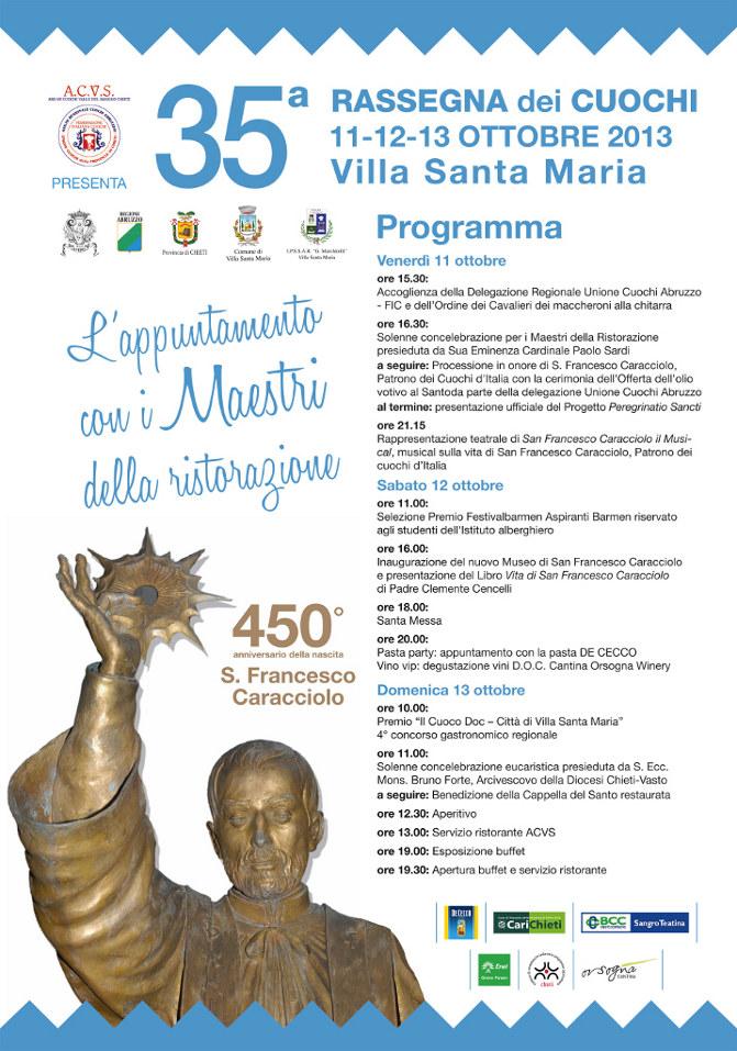 Trentacinquesima rassegna dei Cuochi di Villa Santa Maria