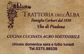 Trattoria dell'Alba Piadena