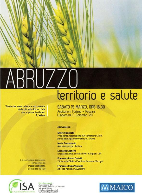 Abruzzo territorio e salute