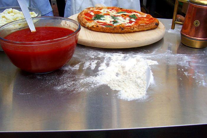 una pizza memorabile