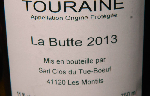 Touraine La Butte 2013
