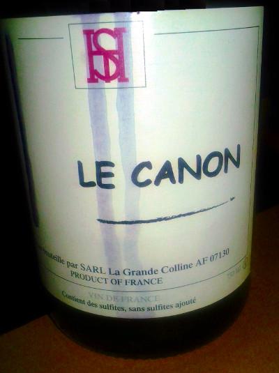 Le Canon Rouge 2013