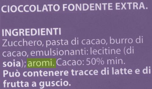 gastrodelirio etichetta ciocco