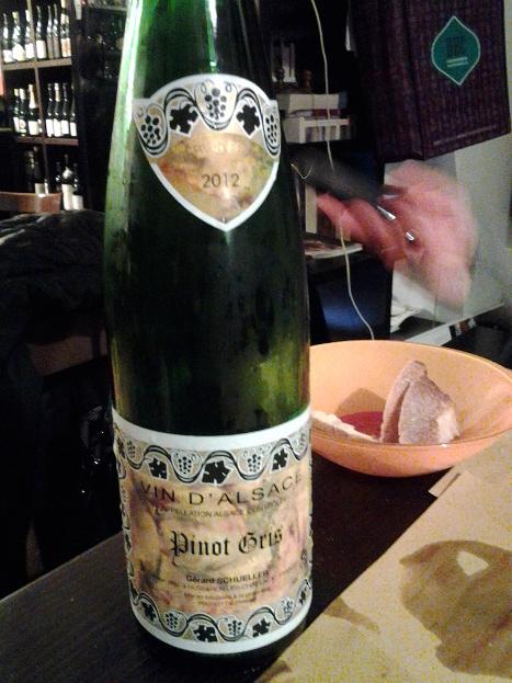 Pinot Gris 2012 di Gerard Schueller