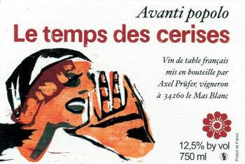 Avanti popolo Les Temps de Cerises