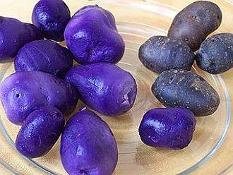 patate blu