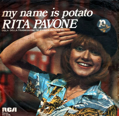 patate blu Rita Pavone my name is potato
