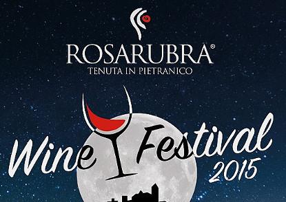 rosarubra wine festival a pietranico