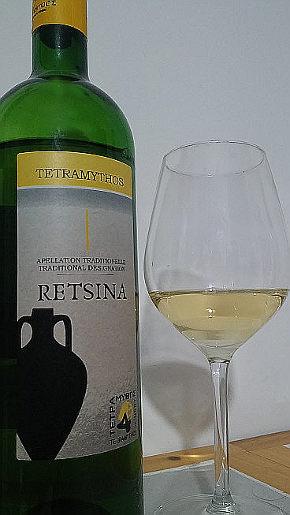 Tetramythos Retsina Bio calice