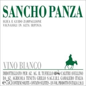 fiano sancho panza 2013 zampaglione etichetta