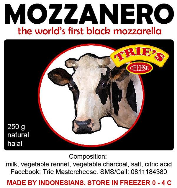 mozzarella al carbone vegetale mozzanero