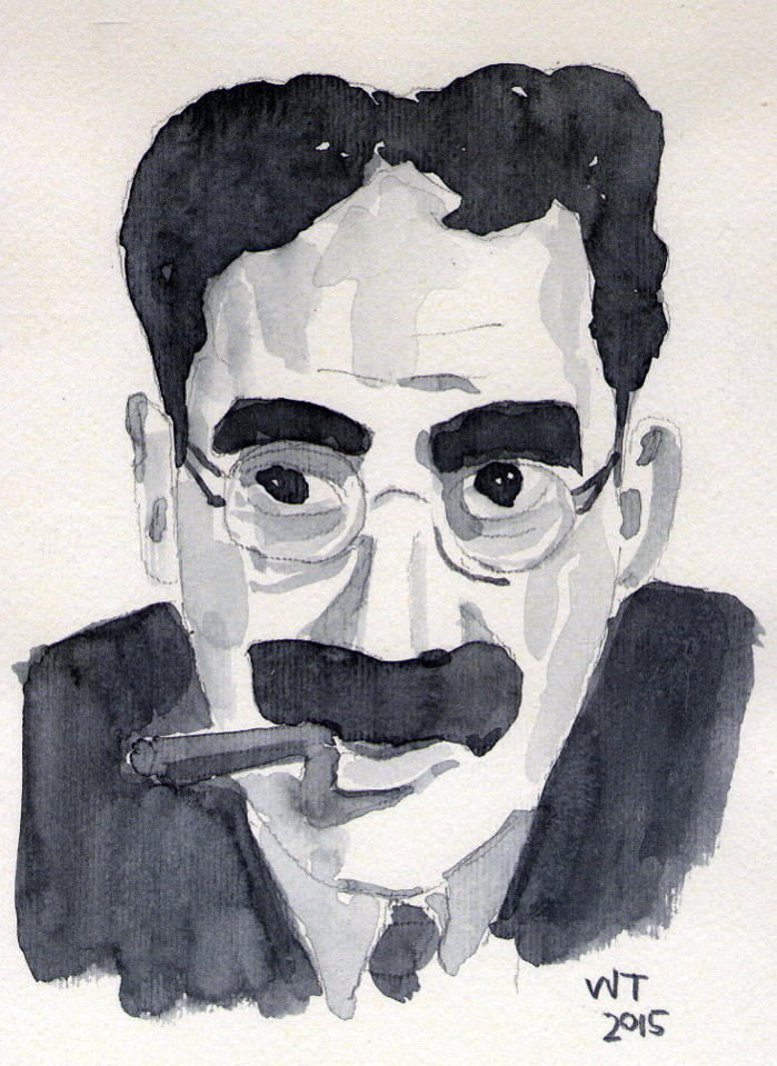 William Trivelli Groucho Marx