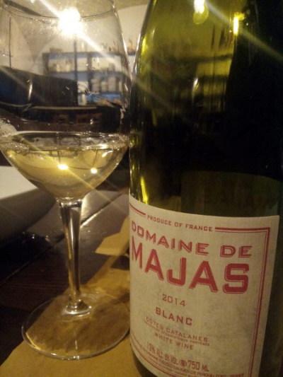 Côtes Catalanes Majas Blanc calice