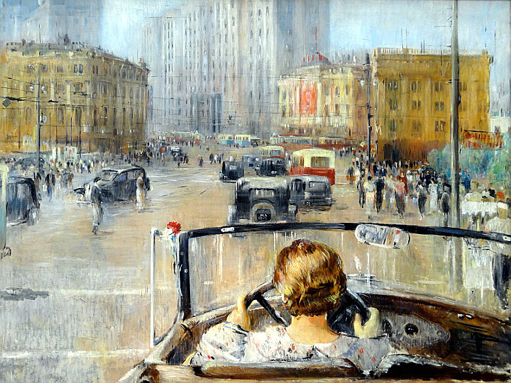 Le levain Roma Russia on the-road-1920-1990-Jurij-Pimenov