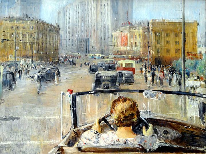 Le levain Roma Russia on the-road-1920-1990-Jurij-Pimenov