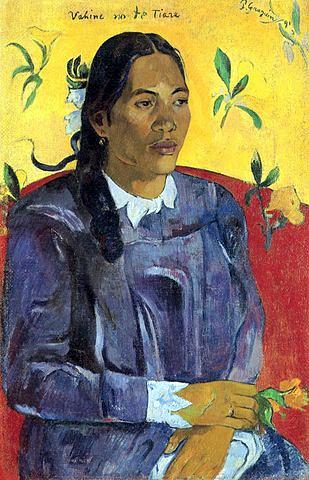 Paul Gauguin e la pizza margherita Vahine no te tiare