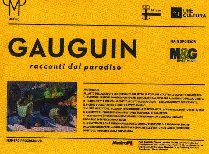 Paul Gauguin e la pizza margherita