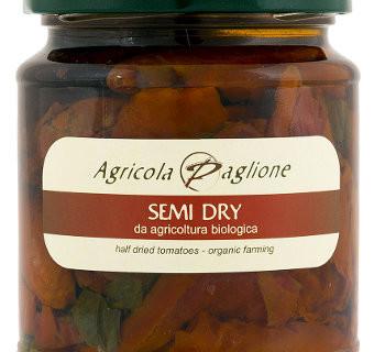 pomodoro semi dry dell'azienda agricola paglione