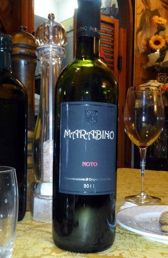 Marabino Noto 2011 calice