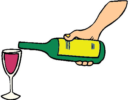 Qual è il tuo vino preferito mano