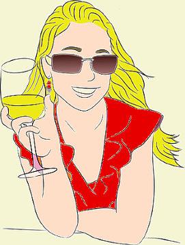 Qual è il tuo vino preferito ragazza