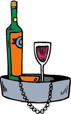 Qual è il tuo vino preferito vassoio