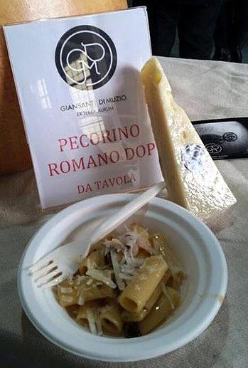 pecorino romano DOP Giansanti pasta