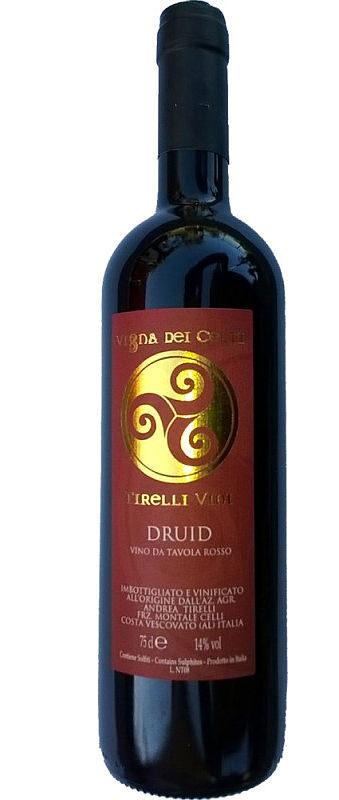 Druid Freisa Tirelli bottiglia
