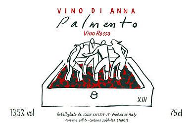 Palmento 2014 Vino di anna etichetta
