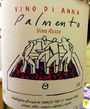 Palmento 2014 etichetta bottiglia
