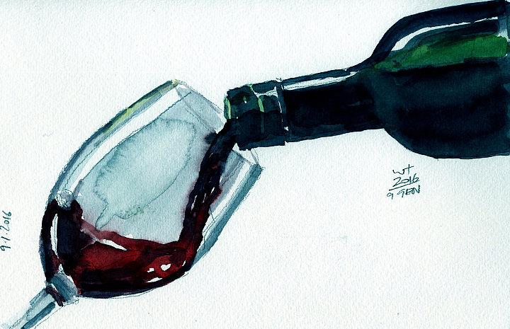 William Trivelli Il vino Biodinamico e il regista Paolo Genovese