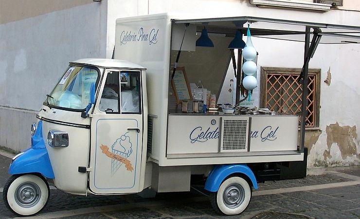 Libando Viaggiare Mangiando gelati