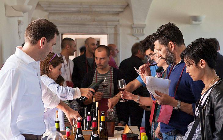 Naturale Salone del Vino Artigianale navelli 2016 gente