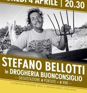 Stefanno Bellotti in drogheria buonconsiglio