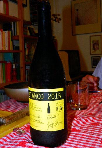 Bianco 2015 Giuseppe Calabrese bottiglia