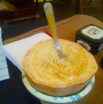 Domenico Bascetta zucca spaghetti
