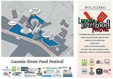 Lucania street food festival Policoro programma mini