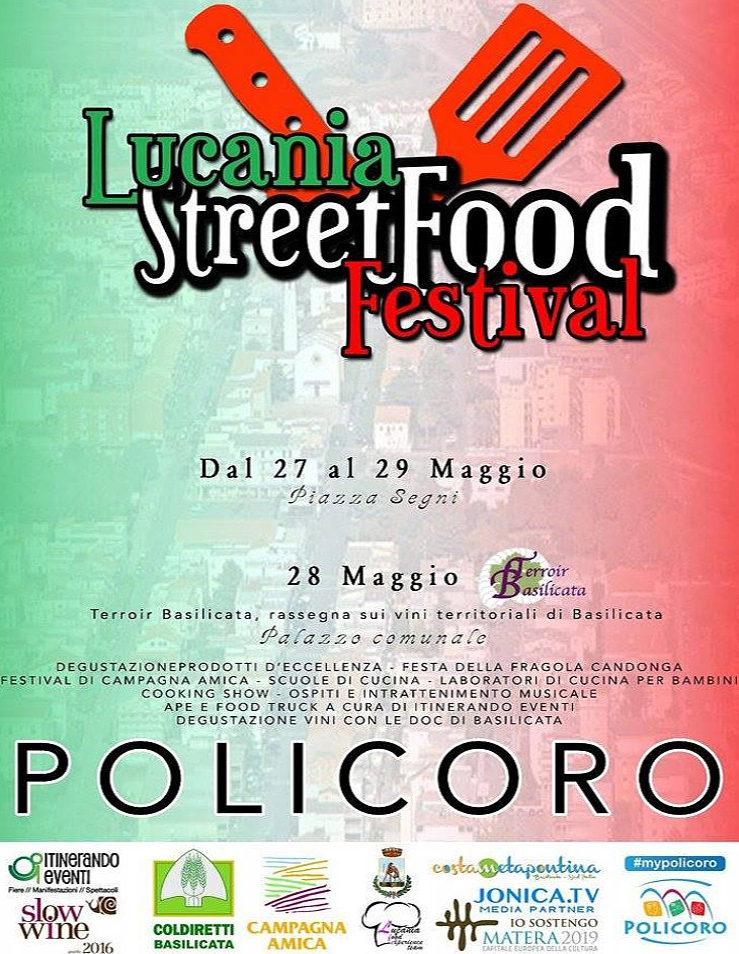 Lucania street food festival a Policoro