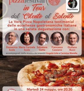 Pizza festival in tour dal cilento al salento
