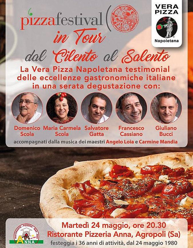 Pizza festival in tour dal cilento al salento