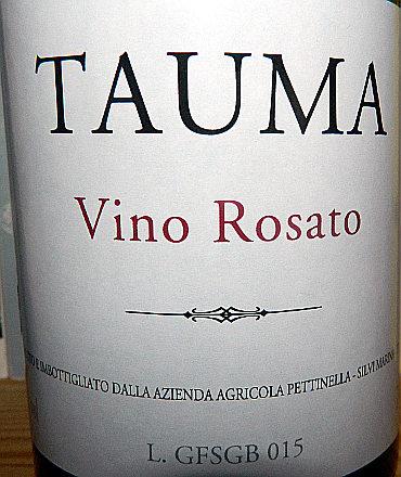 Tauma 2015 etichetta
