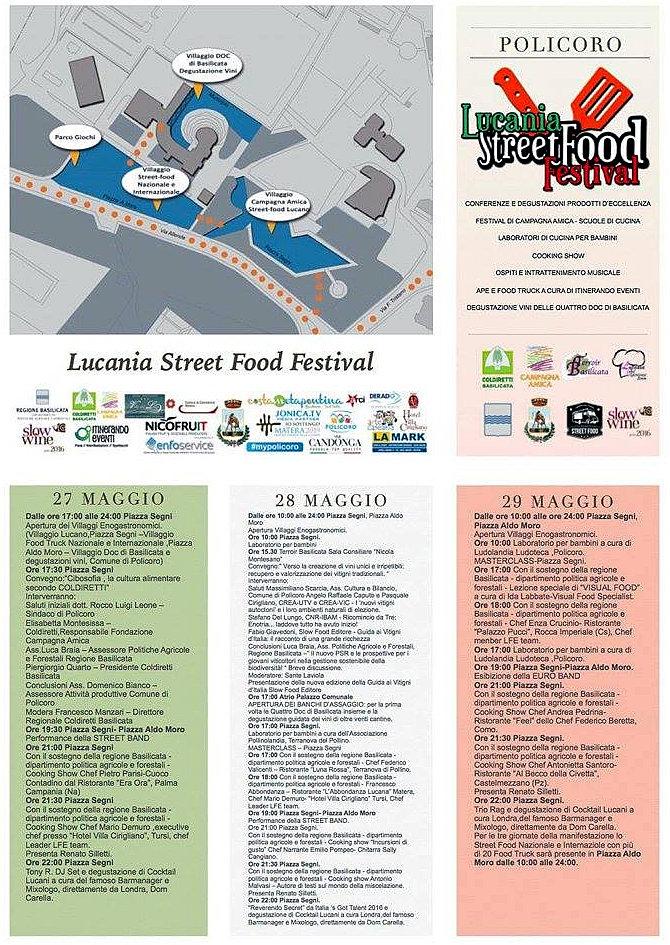 lucania street food festival Policoro