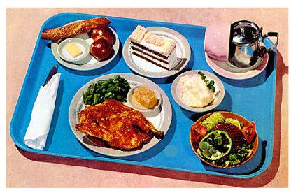 pausa pranzo vassoio
