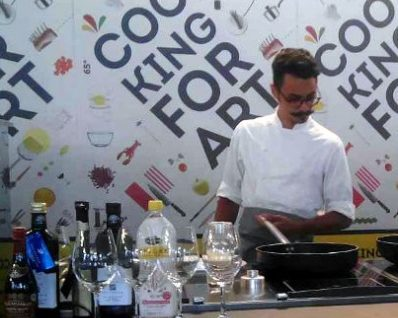 Cooking for Art 2016 miglior chef e pizza mini
