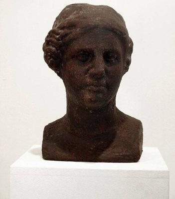Vettor Pisani venere di cioccolato busto