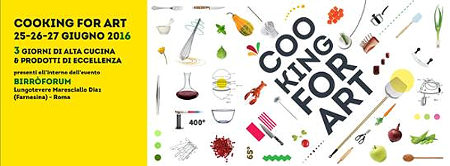 cooking for art 2016 roma piccola