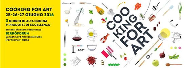 cooking for art 2016 miglior chef
