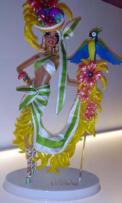 Barbie the icon like carmen miranda
